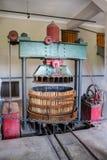 Wytwórnii win roślina Mendoza Argentyna Zdjęcia Royalty Free