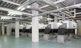 Wytwarzanie siły system dla centrum handlowego, fabryki i utrzymania miejsca Zdjęcia Royalty Free