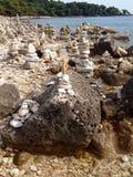 wyważone kamienie Zdjęcia Stock
