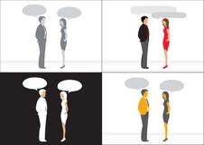 wywiadów biznesowi ludzie Fotografia Stock
