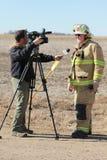 Wywiad z szefem Zdjęcia Stock