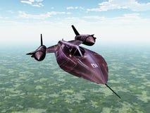 Wywiadowczy samolot Zdjęcie Stock