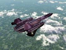 Wywiadowczy samolot Fotografia Stock