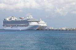 wywoławczy cozumel Mexico port zdjęcia stock