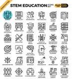 WYWODZI SIĘ naukę, technologia, inżynieria, matematyki edukacja Zdjęcia Royalty Free