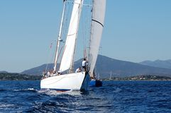 wyzwania klasyczni panerai jachty Obraz Stock