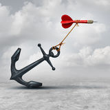 Wyzwania W biznesie ilustracji