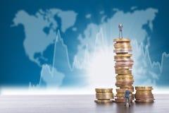Wyzwanie biznesu pojęcie obraz royalty free