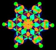 wzór abstrakcyjne kwiat Obrazy Stock