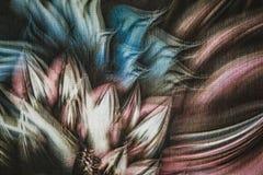 wzór abstrakcyjne kwiat Obrazy Royalty Free