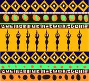 wzór afryki Zdjęcie Stock