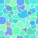 Wzór barwione ikony Zdjęcia Royalty Free