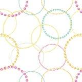 Wzór barwioni gemstones różnorodni cięcia Barwioni klejnoty różny cięcie ilustracji