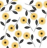 wzór bezszwowy abstrakcyjne kwiat Zdjęcie Royalty Free