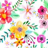 wzór bezszwowy abstrakcyjne kwiat Fotografia Royalty Free