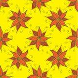wzór bezszwowy kwiat ilustracja wektor