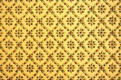 Wzór bezszwowy Tajlandzka jedwabnicza tkanina Zdjęcie Stock