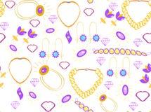 Wzór biżuteria Zdjęcie Stock