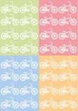 Wzór bicykl Zdjęcia Stock