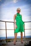 wzór blondynkę Fotografia Royalty Free