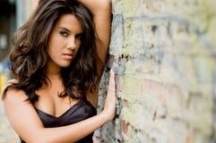 wzór brunetki mody zdjęcie stock