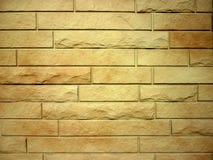 wzór ceglana nowożytna ściana Zdjęcie Stock