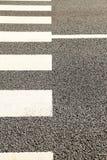 Wzór Crosswalk Obrazy Royalty Free