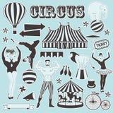 Wzór cyrk Obrazy Royalty Free
