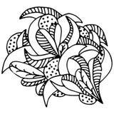 Wzór, doodle Obrazy Stock