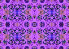 wzór etniczne Akwarela geometryczny bezszwowy wzór Obraz Royalty Free