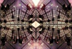 wzór faders audio Zdjęcie Royalty Free