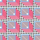 wzór geometryczne abstrakcyjne Obraz Stock