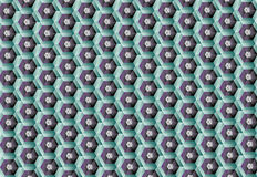 Wzór honeycomb ilustracji