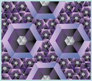 Wzór honeycomb royalty ilustracja