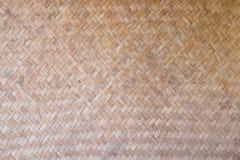 Wzór i projekt Tajlandzki stylowy bambus handcraft Obraz Royalty Free