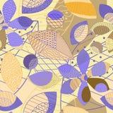 Wzór jest bezszwowy od abstrakcjonistycznych kolorów różni cienie Vektor ilustracja wektor
