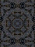 Wzór kalejdoskopu abstrakta popielaty wzór Obraz Royalty Free