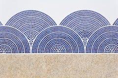 Wzór kamienna ściana Fotografia Royalty Free