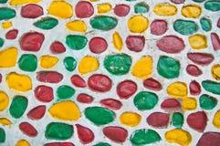 wzór kolorowa ściany Obraz Royalty Free