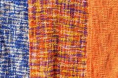 Wzór Kolorowi ubrania, Lunagprabang Fotografia Stock