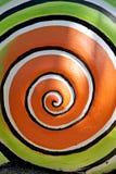Wzór koloru toczny okrąg. Obrazy Royalty Free