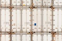 Wzór konteneru sterta przy zajezdnią Zdjęcia Royalty Free