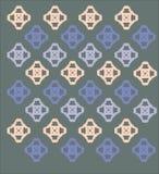 Wzór kwadraty Obraz Royalty Free