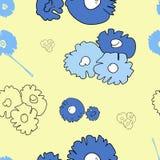 Wzór, kwiaty royalty ilustracja