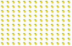 Wzór mandarynki ikony zieleni liścia ustaleni udziały owoc baza projektują świątecznego jaskrawego tła egzotyczne owoc na biel ba zdjęcie stock
