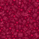 Wzór miłość jest Zdjęcia Stock