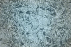 Wzór na koloru tle Zimny mroźny cień Obraz Royalty Free