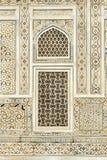 Wzór na marmur ścianie z intarsi pracą obrazy royalty free