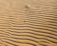 Wzór na piaskach Zdjęcia Royalty Free