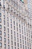 Wzór na wysokim budynku Obrazy Stock
